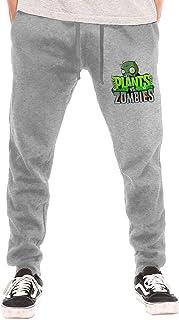 huatongxin Plants Vs. Zombies Men's Breathable Casual Cozy Long Pantalón de chándals Workout Pants
