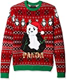Blizzard Bay Men's Ugly Christmas Sweater Animals, Red/Green, Small