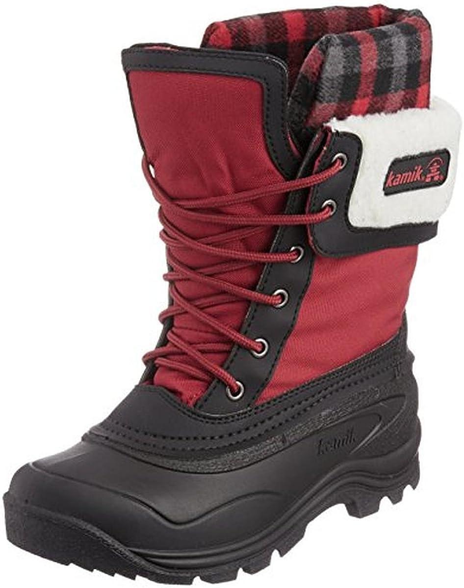 Kamik Women's Sugarloaf Boot,Red,6 M US