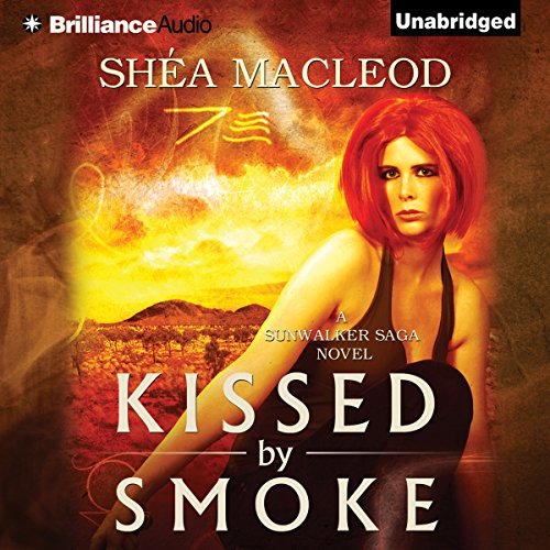 Kissed by Smoke audiobook cover art