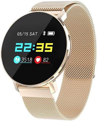 Ambiguity Bracelet Intelligent,HD LCD Display fréquence Cardiaque artérielle Sang oxygène Sommeil santé Suivi Divers Bracelet Intelligent de la Mode Sportive