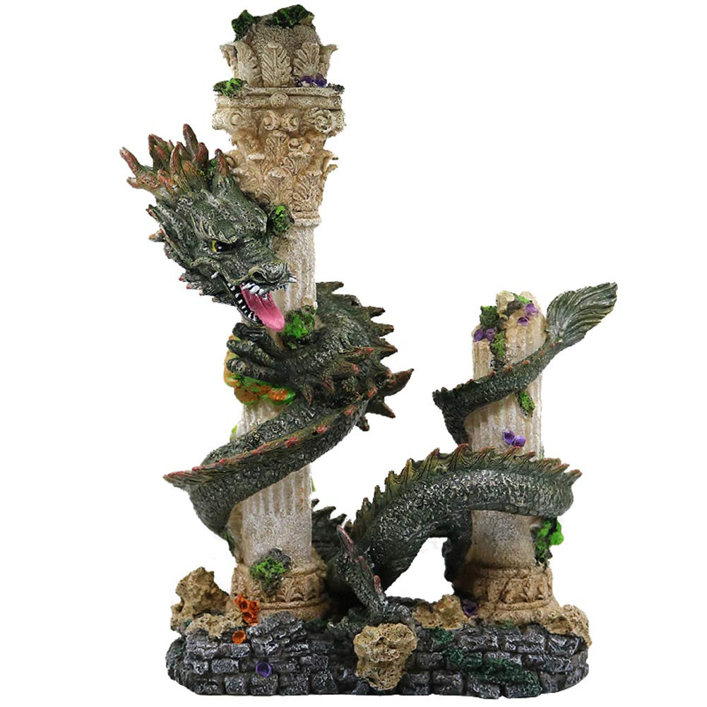 Mujing Aquarium Decorations Ancient Resin Chinese Dragon Aquarium Ornament Fish Tank Landscape Ornament Decoration Accessories Buy Online In Bahamas Missing Category Value Products In Bahamas See Prices Reviews And