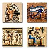 Ägypten - Set B schwebend, 4-teiliges Bilder-Set je Teil