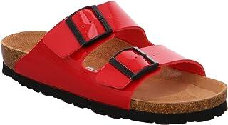 Rohde Alba 5633 41 Damen Sandale Sandalette Pantolette Kiss Rot