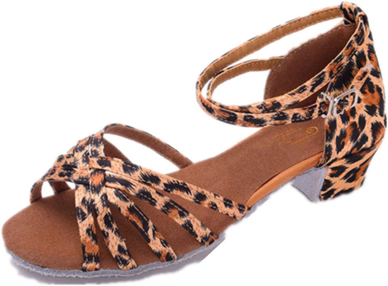 Excellent.c Women's Buckle Sandals Waldorf shoes Latin Salsa Dance Sandals high Heels