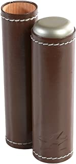 Xikar Envoy Single Cigar Case - Brown