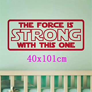 kjyab Wall Stickers Murals Star Wars Wall Stickers Yoda Das Vader Wallpaper English Alphabet Wall Stickers