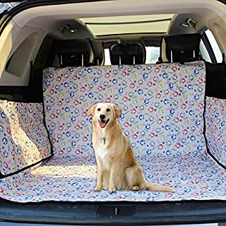 LUZAISHENG Car seat Cover Protection pad Nonslip Folding Waterproof Car Trunk Seat Cover Pet Cat Dog Cushion Mat, Size: 15...