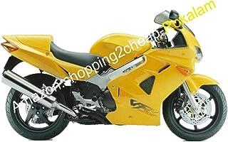 Fairing Body Set For VFR800 1998 1999 2000 2001 VFR 800 98-01 98 99 00 01 VFR 800RR Yellow ABS Motorcycle Fairing Kit