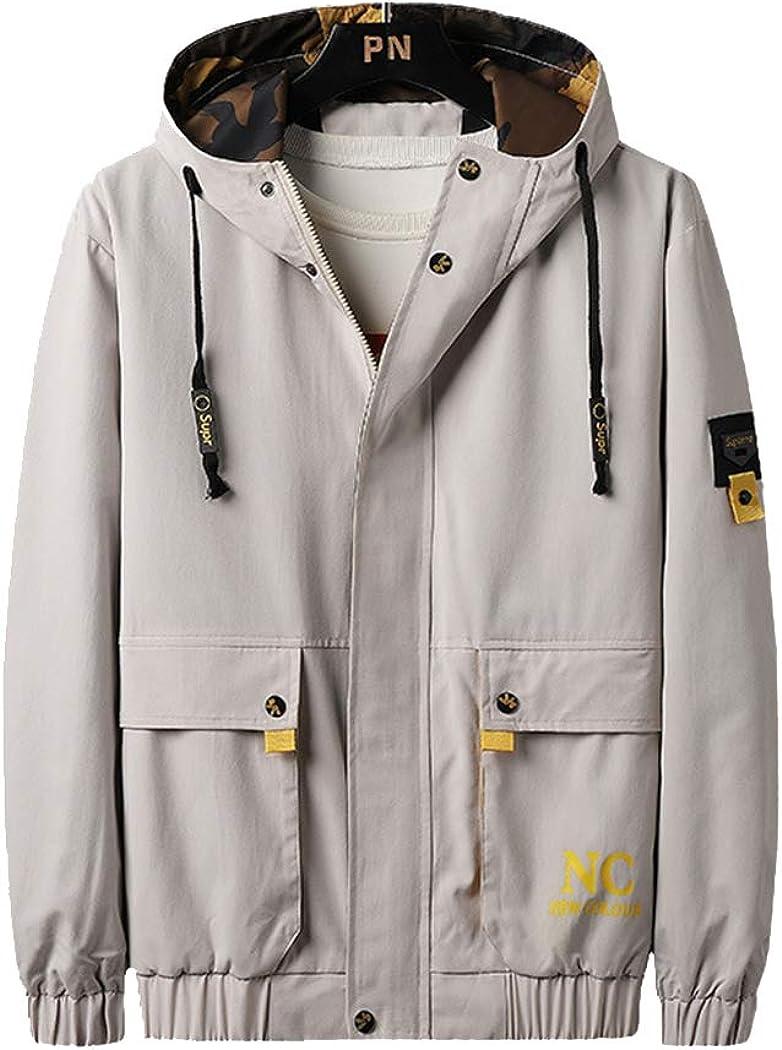 Topshop Coat Men's Workwear Jacket Spring and Autumn Trend Korean Creative Jacket-A-XXXL