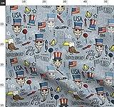 Unabhängigkeitstag, Freiheit, Amerika, Usa, Adler, Flagge