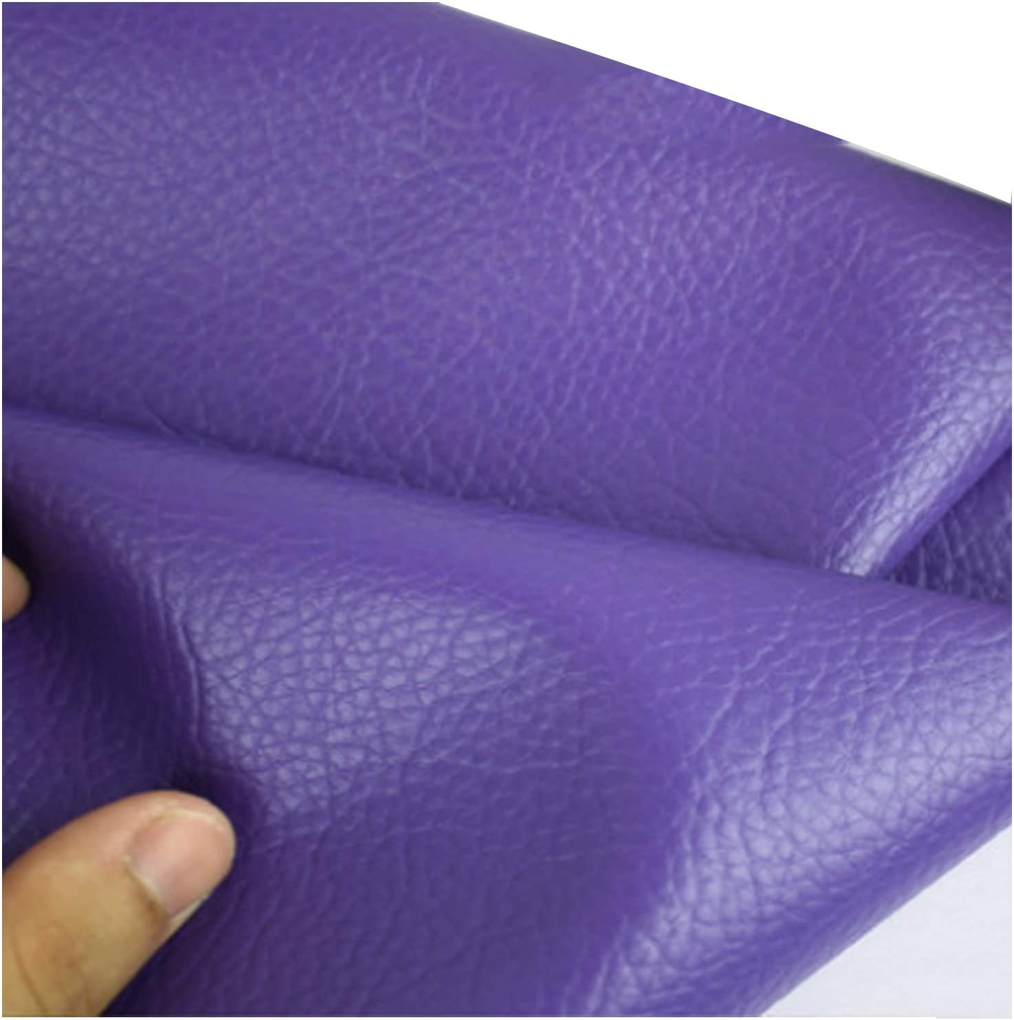 MAGFYLY Popular popular Leather Material Fabric Faux Grain Max 65% OFF Litchi