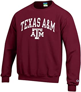 Elite Fan Shop NCAA Men's Team Color Crewneck Sweatshirt Arch
