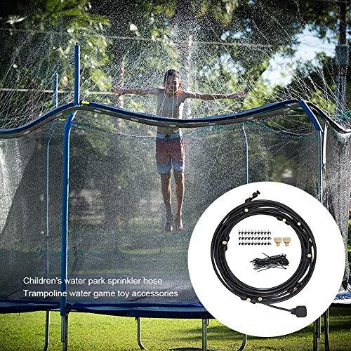 NIEUW Sprinkler Water Garden Kids, Waterkoelsysteem voor buiten in de hete zomer, Koelsproeisysteem Sprinklerslang voor waterpark, Trampoline, Waterspeelgoed Accessoires voor kinderen Volwassenen