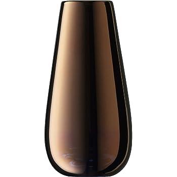 LSA International Flower Metallic Bud Vase H14cm Copper