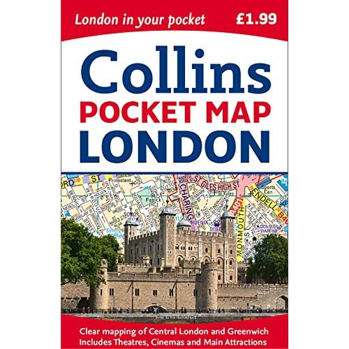 Map Of London England With Tourist Attractions.Map Of London Amazon Co Uk
