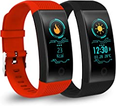 Birgus Smart Fitness Tracker Watch Bluetooth Activity Tracker Heart Rate Monitor Sleep Monitor Blood Pressure Monitor Waterproof Pedometer Barcelet for Android iOS iPhone Men Wowen Kids