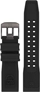 Genuine Luminox Replacement Band/Rubber Strap for Navy Seals Series 3500-24 mm Black