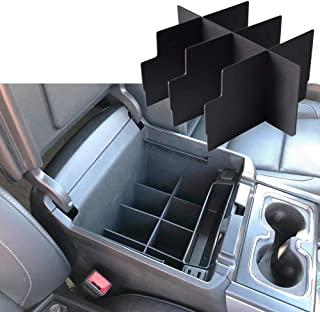 EDBETOS Center Console Organizer Insert Dividers for 2014-2018 GMC Sierra 1500 / Chevy Silverado 1500 Accessories and 2015...