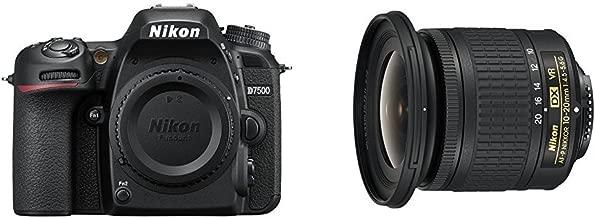 Nikon D7500 DX-format Digital SLR Travel and Landscape Lens Kit
