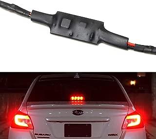 iJDMTOY (1) Plug-N-Play Strobe Flash Controller For 2015-up Subaru WRX or STI Rear Windshield LED High Mount Third Brake Light