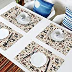 Placemats-Set-of-4-Vintage-Cartoon-Dog-Paws-Bones-Print-Polyester-Stain-Resistant-Table-Mats-Washable-Placemat-Decoration-for-Kitchen-Dining-Table-Retro