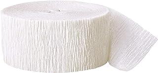 CREPE STREAMER 81FT-White, Unisex
