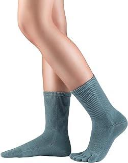 Knitido, Dr. Foot® Hallux Valgus | Calcetines con dedos para juanetes, media pierna