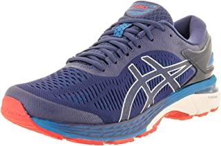 Asics Men's Gel-Kayano 25 Indigo Blue/Cream Ankle-High Mesh Running Shoe - 8.5M