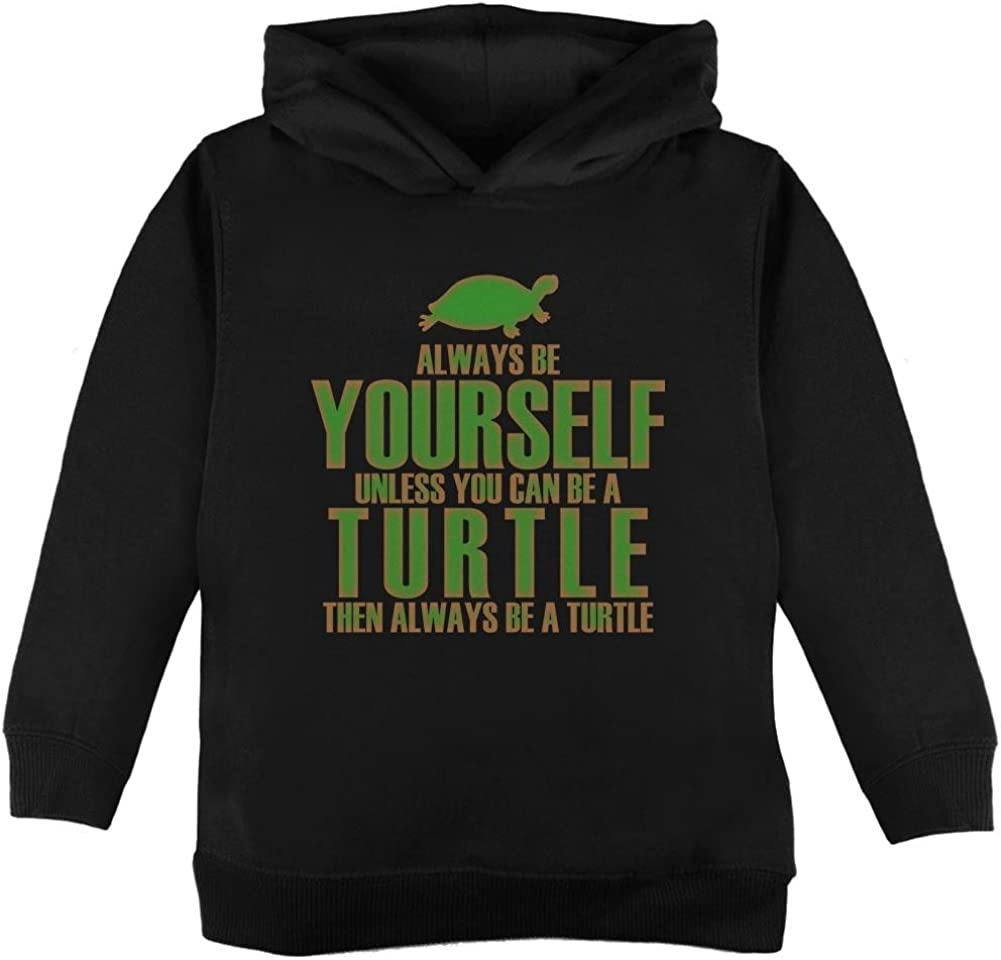 Old Glory Always Be Yourself Turtle Toddler Hoodie