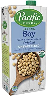Pacific Foods Organic Unsweetened Soy Drink, Original, 946ml