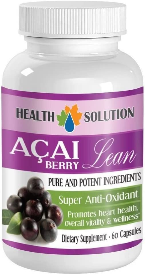 3 Bottle ACAI Berry Lean with Tea Extract. Green Super Anti-Oxid Oakland Mall High quality