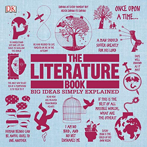 The Literature Book Audiobook By DK cover art