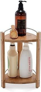 GOBAM Shower Caddy Bathroom Caddy Organizer for Shampoo, Conditioner, Lotion, Soap, Natural Bamboo