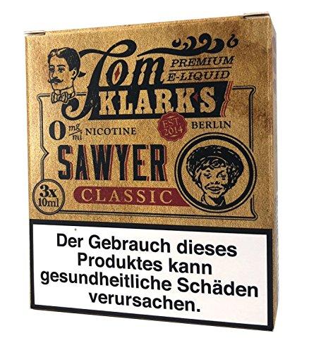 Tom Klark Premium E-Liquid, Sawyer KLASSIK, 30 ml