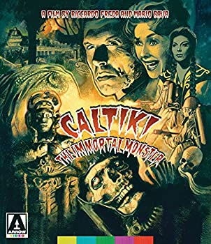 Caltiki The Immortal Monster  2-Disc Special Edition  [Blu-ray + DVD]