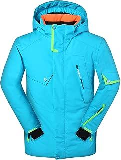 Men's Ski Jacket Waterproof Windproof Rain Snow Jacket Hooded Ski Coat