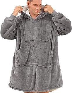 Wangy Hoodie Sweatshirt Blanket,Oversized Super Soft, Warm, Comfortable Giant Hoody,Fit for Men Women Teens