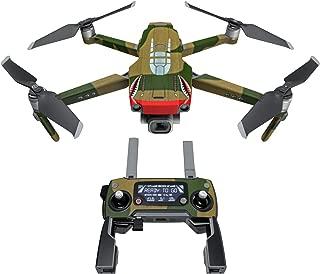 DJI Mavic 贴花套件 - 包括 1 个无人机/电池皮肤 + 控制器皮肤 War Tiger Mavic 2/Zoom DJIM2-WARTIGER