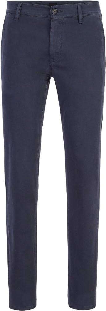 Hugo boss,pantaloni casual uomo, in pratico cotone elasticizzato 50379152B