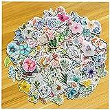 440 Stück Wald Tier Pflanze Blumen Serie Abziehbilder für DIY Dekoration Aufkleber für Laptop-Planer Sammelalbum Koffer Tagebuch Notizbücher -10 Verschiedene Arten von Blumen
