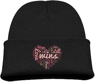 ADGoods Kids Children Love Wins Beanie Hat Knitted Beanie Knit Beanie For Boys Girls Gorra de béisbol para niños