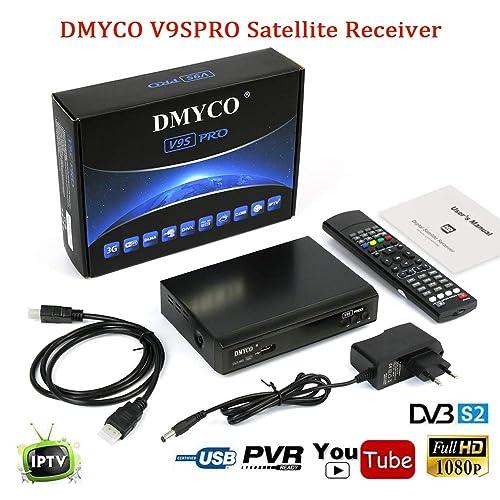 Satellite Receiver FTA Signal Meter TV Tuner Sat Decoder DVB-S2 Digital TV Equipment ,