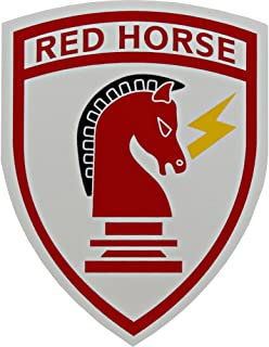 U.S. Air Force Civil Engineer Red Horse Clear Decal
