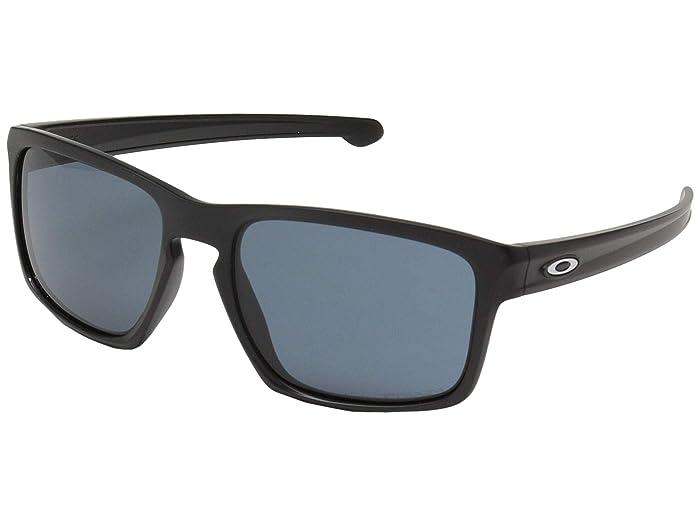 Oakley Sliver (Matte Black w/ Prizm Grey) Sport Sunglasses