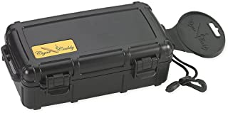 Cigar Caddy 3240 Travel Cigar Humidor, Holds 10 Cigars, Waterproof, Airtight Seal, Crush..