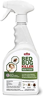 Duuda Bed Bug Organic Killer Spray, Fast and Sure Kill with Extened Residual Protection, Natural & Non-Toxic, Child & Pet Friendly - 22oz