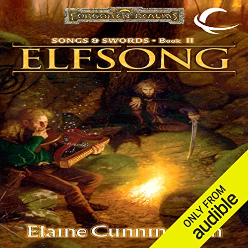 Elfsong     Forgotten Realms: Songs & Swords, Book 2              By:                                                                                                                                 Elaine Cunningham                               Narrated by:                                                                                                                                 Eric Michael Summerer                      Length: 10 hrs and 18 mins     74 ratings     Overall 4.6