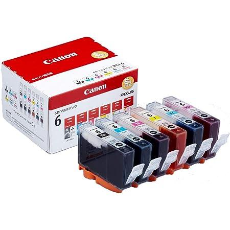 Canon Canon 純正 インクカートリッジ BCI-6(BK/C/M/Y/PC/PM) 6色マルチパック BCI-6/6MP