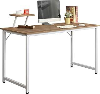 sogesfurniture Bureau d'ordinateur Moderne Table Informatique Simple Design, Table de Bureau Table de Travail en Bois et A...